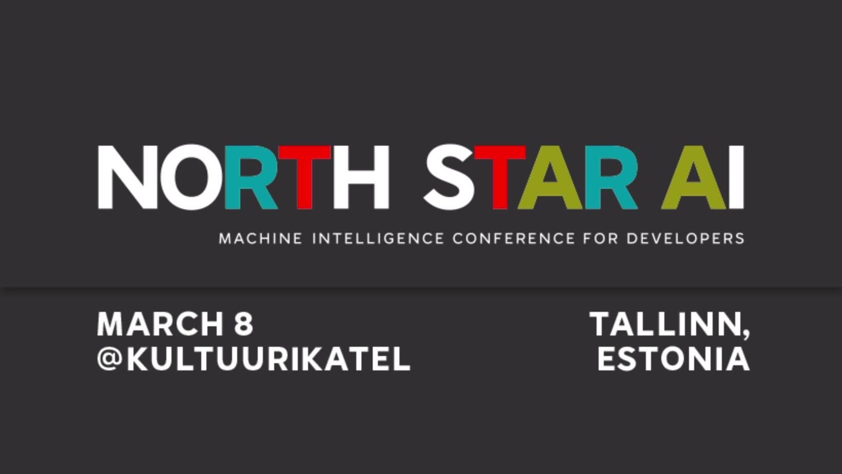 6406North Star AI. Masinintellekti konverents arendajatele.
