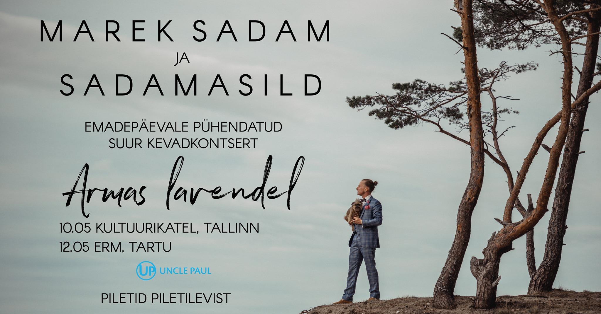 12668MAREK SADAM & SADAMASILD: ARMAS LAVENDEL