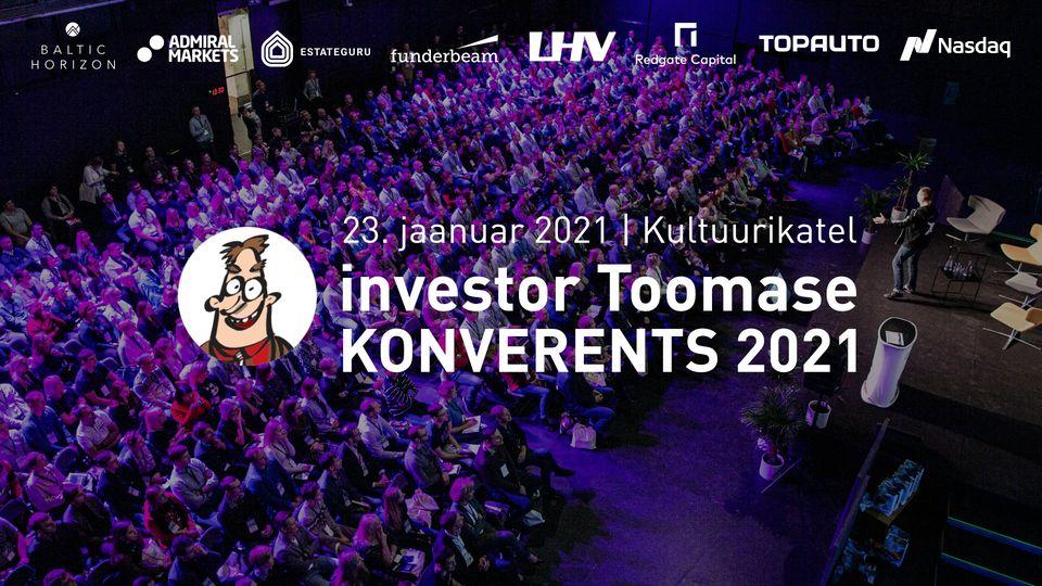 13209Investor Toomase Konverents 2021