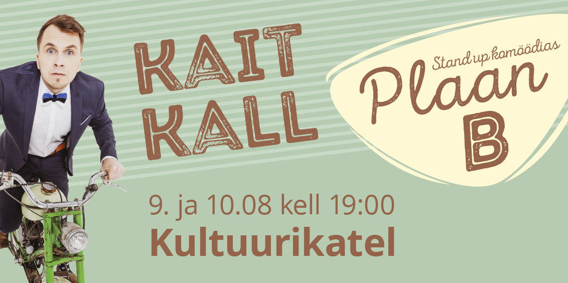 """13675Kait Kall stand up komöödias """"Plaan B"""""""